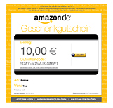 Shell Amazon Gutschein 10